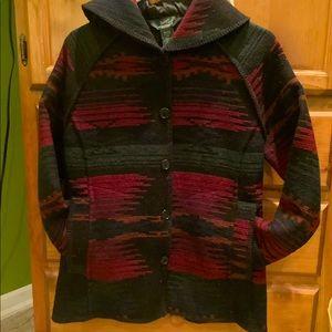 Vintage Aztec woolrich jacket